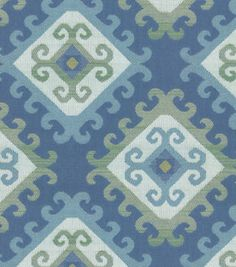 Upholstery Fabric-Waverly Marmara/Aegean