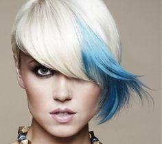 Tagli capelli asimmetrici per un 2014 all'insegna del rock #hair