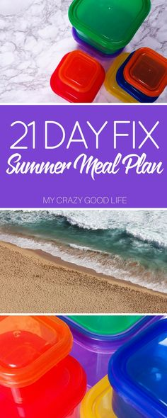 What better time than now to start a new healthy lifestyle! This 21 Day Fix Summer Meal Plan will get you started on the right path!