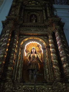 Basilica Bom Jesus, Goa. This UNESCO World Heritage Site holds the mortal remains of St.Francis Xavier.