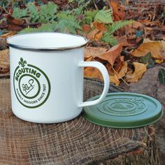 Our collection of Heavy duty, traditional style enamelware designed to withstand the test of time, ideal for any #Scout includes the #EnamelMug with a plastic air tight lid.