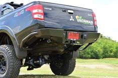 Triton MQ Rear Protection Tow Bar
