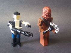 Lego Han and Chewie by Matt Armstrong.