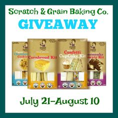 Baking Made Simple with Scratch & Grain Baking Co #Sponsored Plus GIVEAWAY 8/10