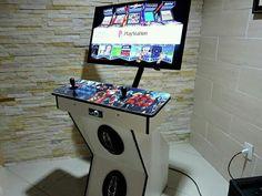 Retropie Arcade, Bartop Arcade, Arcade Room, Arcade Fire, Arcade Games, Retro Pi, Diy Arcade Cabinet, Game Tag, Raspberry Pi Projects