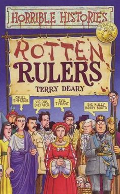 """""""Rotten Rulers (Horrible Histories Special)"""" av Terry Deary"""