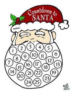 Santa Countdown in C