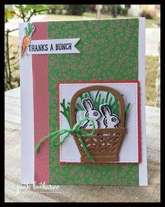 Pink Buckaroo Designs: Basket Bunch
