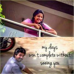 Razsaz Tamil Movie Love Quotes, Love Quotes In Telugu, Favorite Movie Quotes, Adorable Quotes, Cute Love Quotes, Girly Quotes, Strong Mind Quotes, My Mind Quotes, Life Quotes Pictures