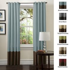 @Overstock - Perfect for any room, these Prima window panels feature a classy, simple design. These curtains feature a top loop design to slide easily onto your curtain rod. Full lining provides extra insulation and privacy.  http://www.overstock.com/Home-Garden/Lush-Decor-84-inch-Prima-Curtain-Panel-Pair/5482581/product.html?CID=214117 $30.56