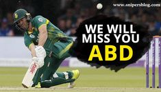 South Africa batsman AB de Villiers retires has announced his decision from international cricket with immediate effect, stating