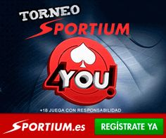 Torneo 4You con Sportium.es | All-in Latam poker http://www.allinlatampoker.com/torneo-4you-con-sportium-es/