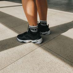 Sosete cu mesaj Fuck Off Socks / Buy Now New Balance, Buy Now, Socks, Photo And Video, Sneakers, Stuff To Buy, Instagram, Fashion, Tennis