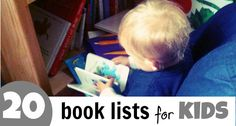 Children's Book Lists covering topics from mindful children to holidays to money! A very handy list!