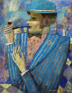 Портрет с трубкой Andrey Aranyshev