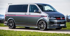 ABT's VW T6 Special Blows The Candles On Two Cakes #ABT #Tuning