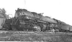 Baltimore and Ohio EM-1 (2-8-8-4). These huge locomotives are among my favorites.