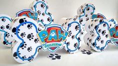 Caixa Patrulha canina Paw Patrol Birthday Cake, Paw Patrol Party, Birthday Party Decorations Diy, Boy Birthday Parties, Son Luna, Silhouette, Birthday Party Boys, Personalized Party Favors, Stationery Shop