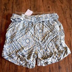 FREE PEOPLE Shorts High Rise Bohemian Printed Mini Available Sizes: XS, Small. New with tags.  $68 Retail + Tax.    Printed high rise shorts featuring an elastic waistband and fabric belt.   Comfortable, chic with rolled hemline.  Run true to size.  Rayon. Imported.    ❗️ Please - no trades, PP, holds, or Modeling.   💰 Bundle 2+ items for a 20% discount!   👠 Stop by my closet for even more items from this brand!  ✔️ Items are priced to sell, however reasonable offers will be considered…
