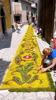 Cusano Mutri, Campania, Italy - Infiorata 2007