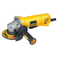 4-1/2-in 10-Amp Paddle Corded Angle Grinder