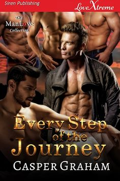 Every Step of the Journey (MMMMM) - Contemporary Paranormal Romance, Alpha-Omega, Double/Triple Penetration/MPREG