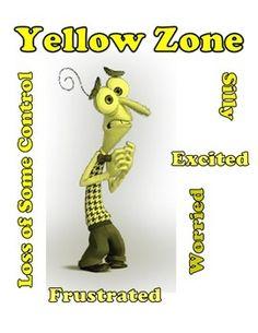 Inside Out Themed Tools to use with Zones of Regulation Cu