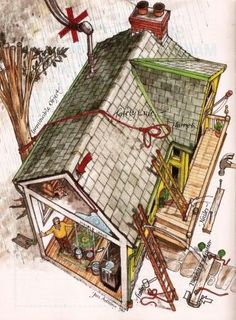 Find and repair a leaking roof with this guide, including safety tips, repairing flashing, replacing shingles, and patching valleys. Originally published as