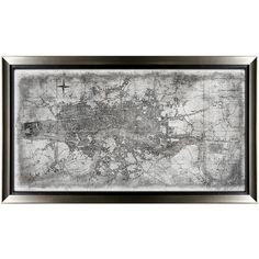 Leftbank Art In London Glass Framed Map ($923) ❤ liked on Polyvore featuring home, home decor, wall art, horizontal wall art, map home decor, london wall art, map wall art and asian home decor