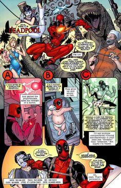 Deadpool origins