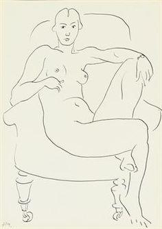 Life Drawing, Drawing Sketches, Art Drawings, Figure Sketching, Figure Drawing, Henri Matisse, Figure Painting, Painting & Drawing, Matisse Drawing