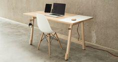 Mesa minimalista perfeita para trabalhar