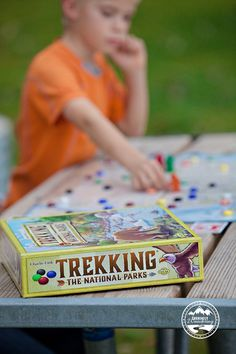 Looking for a fun, educational board game? Check out Trekking the National Parks - its one of our favorites!