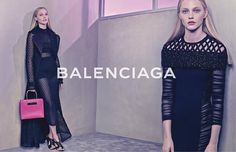 Balenciaga Spring 2015 - Sasha Pivovarova - TheStyleDraft