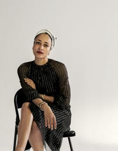 crfashionbook: Author Zadie Smith is one of five muses at the forefront of Altuzarra's latest capsule collection
