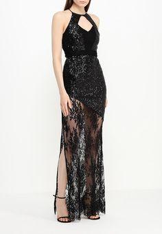 Платье от Marciano Guess прилегающего кроя. Модель выполнена из кружевного текстиля и расшита пайетками. Адрес для приобретения http://fas.st/T_c6I