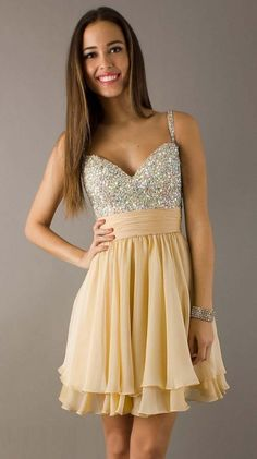 prom dresses prom dresses for teens with straps 2015 wedding dresses 2014 summer glittery a-line straps chiffon homing dress