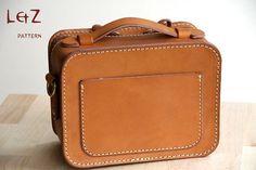 bag patterns sling bag patterns PDF BXL-01 LZpattern design leathercraft patterns leather craft leather art   Ananasa