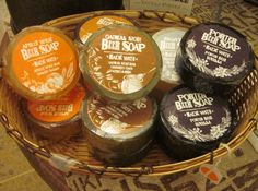 Swag beer soaps in spicy & roasty scents derived from beer ingredients. In the Bath & Linen Room at #TheLittleTraveler in #GenevaIL