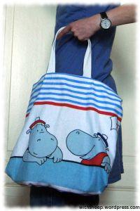 Einkaufstasche, 12monate12taschen, nähen, Plastik vermeiden, Stoff, Alternative zu Plastik, Tasche, Stofftasche, Beutel
