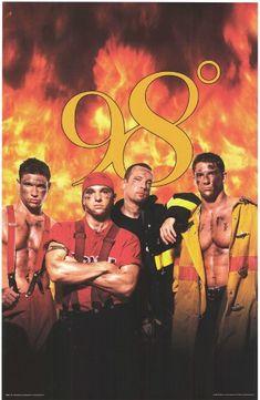 98 Degrees Firemen - People Poster - 22 x 34 98 Degrees Band, Play That Funky Music, Backstreet Boys, My Favorite Music, Man Crush, Pop Group, Childhood Memories, Boy Bands, Eye Candy
