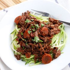 Paleo Lamb Ragu- this makes the most delish and comforting meal on a cold day! It is also a fantastic freezer meal and tastes the best if made ahead of time.