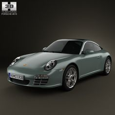 3D Model Porsche 911 Targa - 3D Model