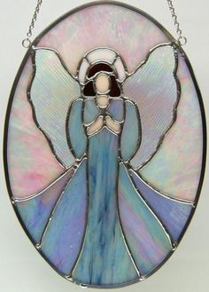 angel stained glass patterns free | Mother's Angel, Praying Angel