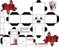 Snowman Cubeecraft
