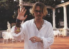 remember when johnny depp had ombre hair before any of us did hahah ;D sexxxyyyy