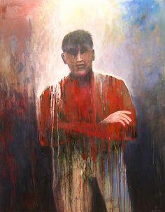 Mel McCuddin, The Heavy Weight 2005, oil on canvas