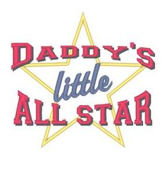 All Designs :: Daddys Little Allstar