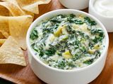 I always make spinach dip but haven't yet made hot spinach artichoke dip...might need to try it soon!
