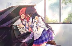 Nishikino maki y sonoda umi | Love Live School Idol Project.